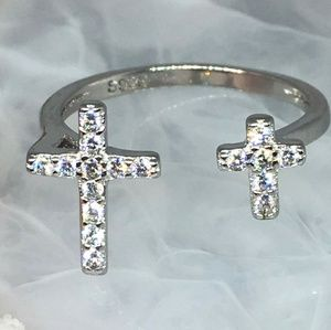 Double cross ring (brand new)